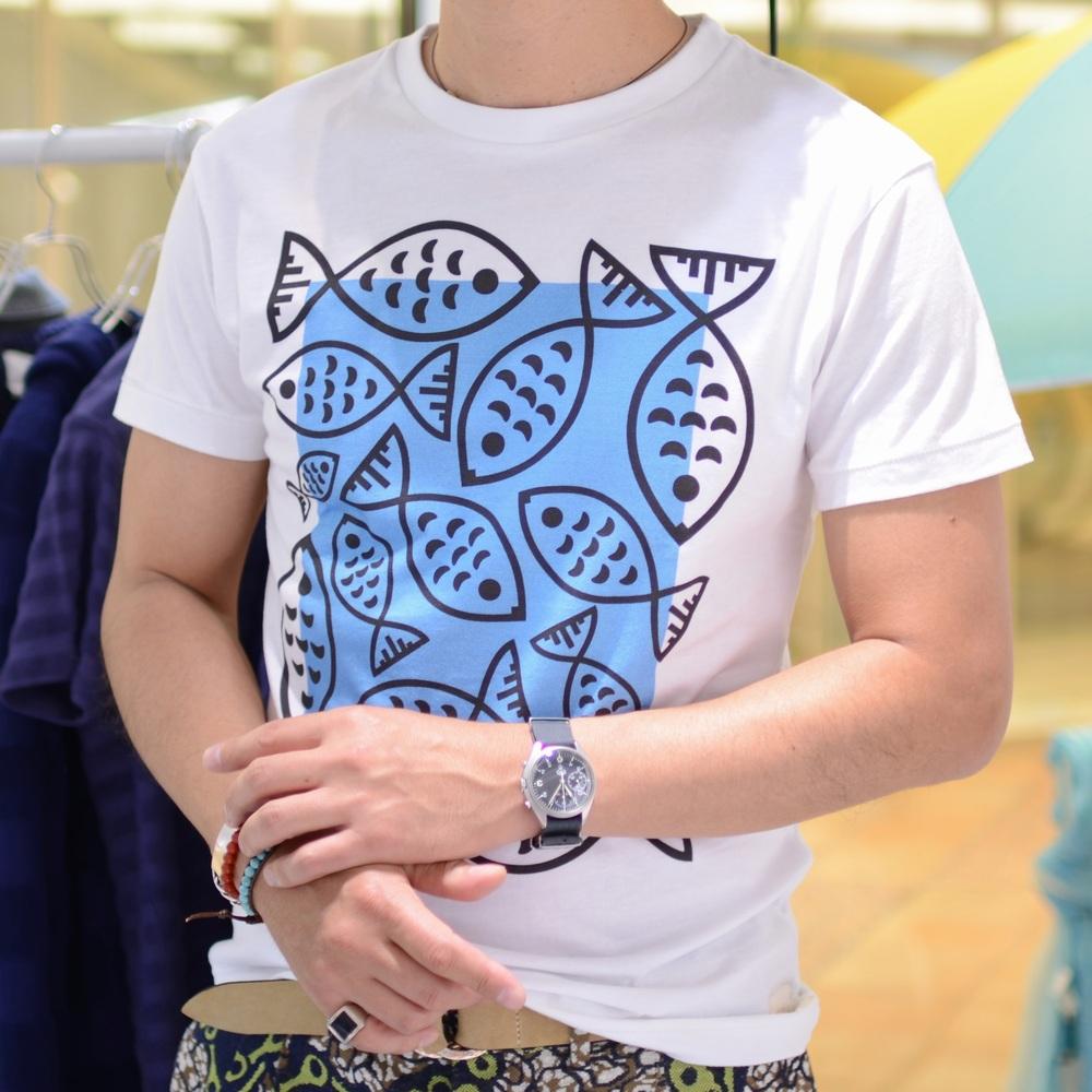 ファッションとアートのミックス<BR>COLLECTR(コレクター)  Tシャツ4型