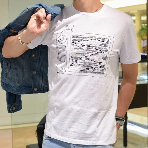 乗かっちゃいました(汗)<BR> jimi roos(ジミ ルース) 刺繍Tシャツ3型