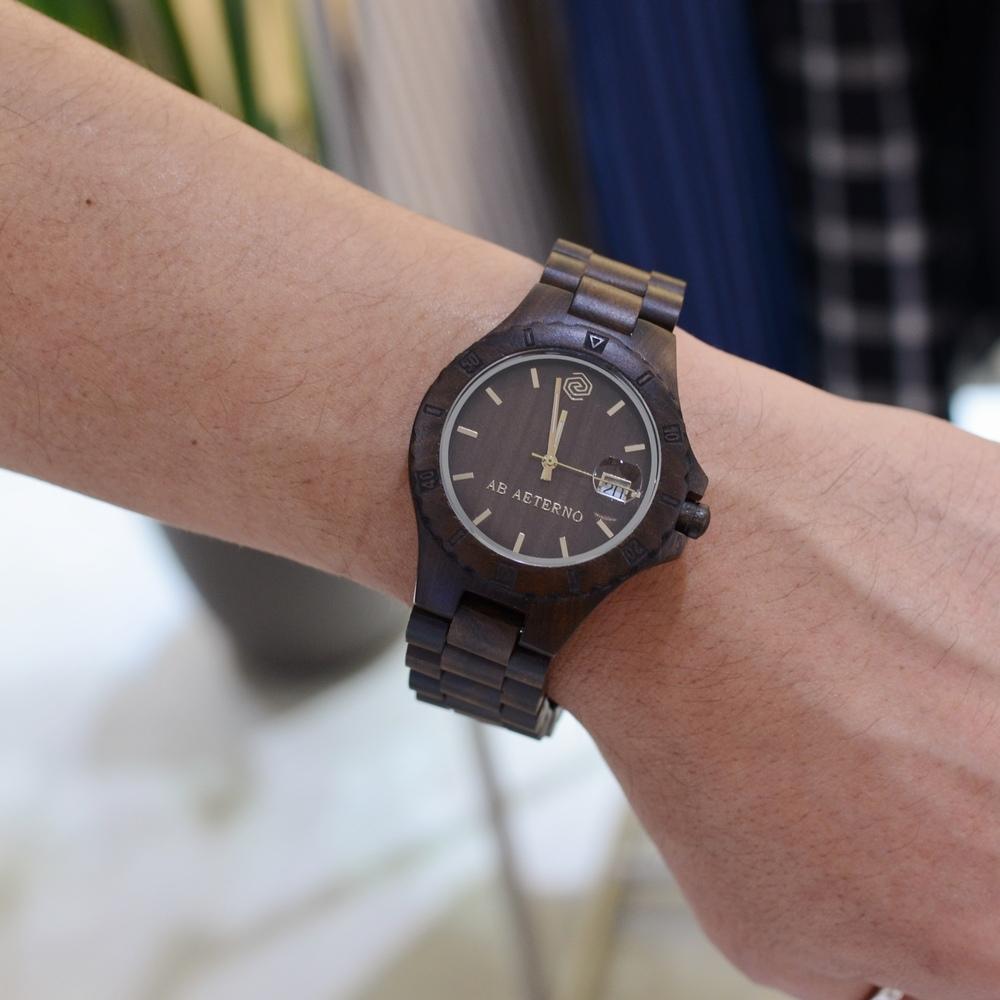自然と高品質の融合<BR>AB AETERNO(アバテルノ)  wood watch 4型