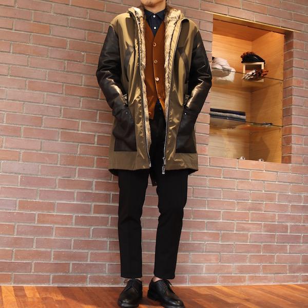 『MIX stylingを・・』<BR>スタイリングのご紹介<BR>〜DROMe(ドローム) ・Salvatore Santoro(サルバトーレ サントロ)〜