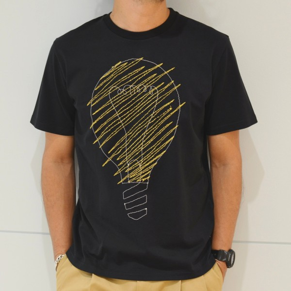 インパクトは大切<BR>jimi roos(ジミ ルース) 刺繍Tシャツ2型・刺繍クルーネックニット