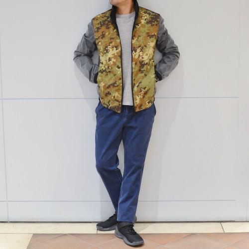自然と洋服のMIX!?<BR>GRIFFINスタンドカラーブルゾン・フーデットブルゾン