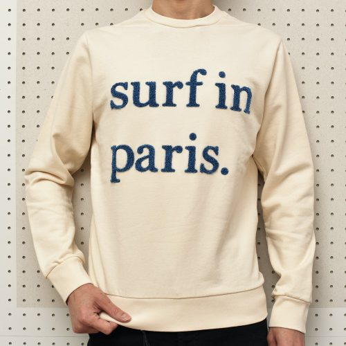 『surf in paris』<BR>CUISSE DE GRENOUILLE(キュイス ドゥ グルヌイユ )スゥエット・Tシャツ3型