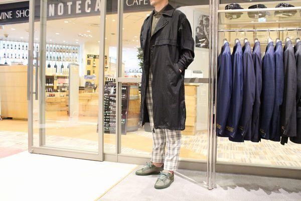 『MIX stylingを・・』<BR>スタイリングのご紹介<BR>〜Casely-Hayford(ケイスリー ヘイフォード)・Salvatore Santoro(サルバトーレ サントロ)〜