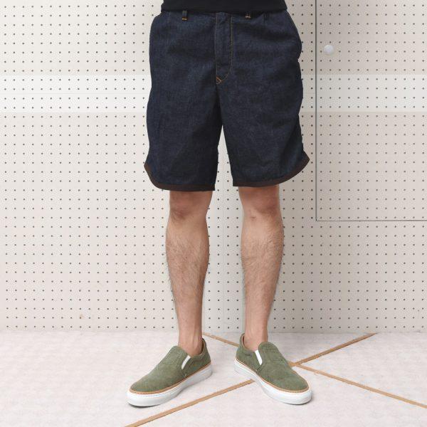 今期最後‼<BR>kolor/BEACON(カラー・ビーコン)デニムショーツ・ショートスリーブTシャツ・鞄