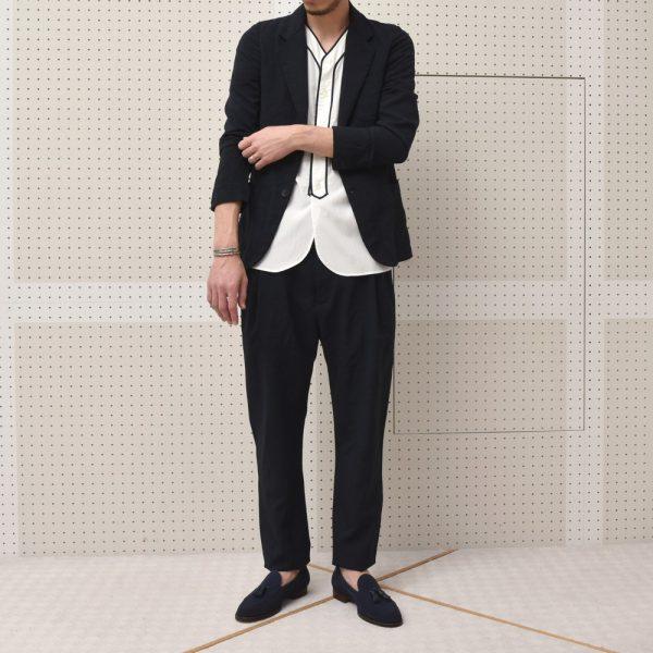 Mandoの夏、balconeの夏!<BR> Mando(マンドー) ポリエステルジャケット・ポリステルサルエルパンツ・Tシャツ2型