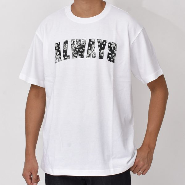 "『&#8221;KING-MASA&#8221;×&#8221;ASTILE house""×""guji&#8221;』②<BR>Always Out Of Stock(オールウェイズ アウト オブ ストック)  Tシャツ2型"