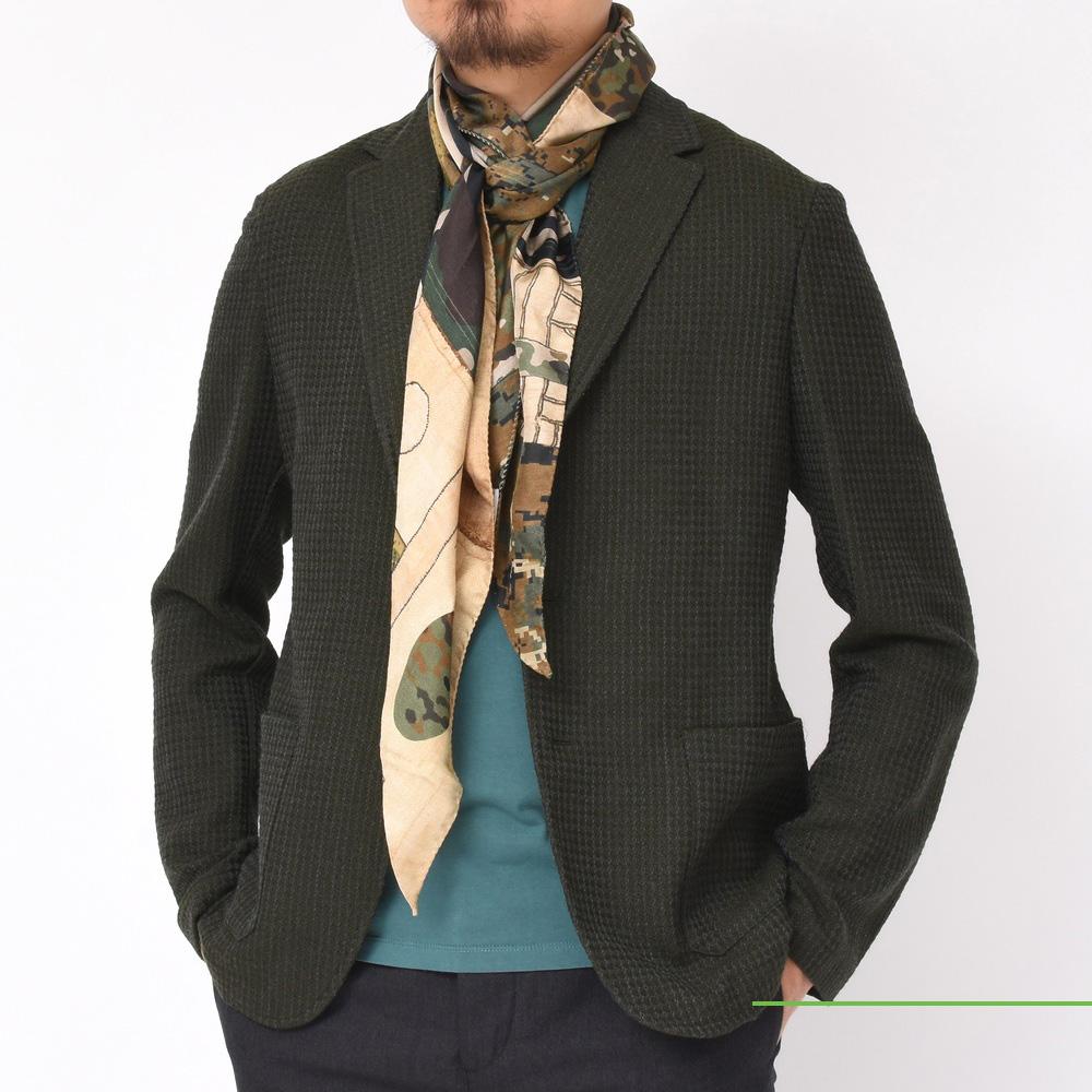 今年の首元のトレンドと言えば!<BR>PIERRE LOUIS MASCIA(ピエール ルイ マシア) スカーフ