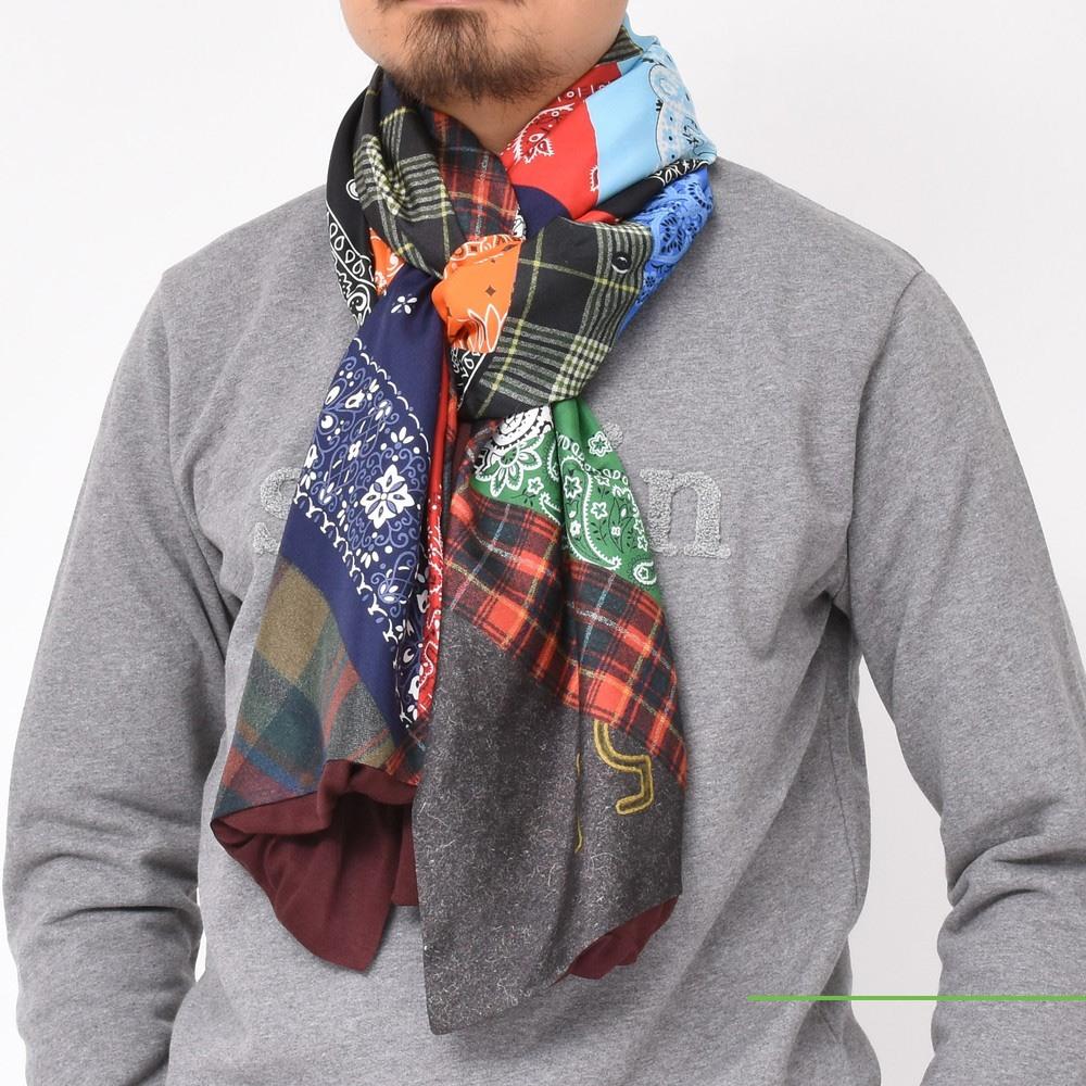 寒い冬に彩りを加えるのはやっぱりこのブランドです!<BR>PIERRE LOUIS MASCIA(ピエール ルイ マシア)ストール1型
