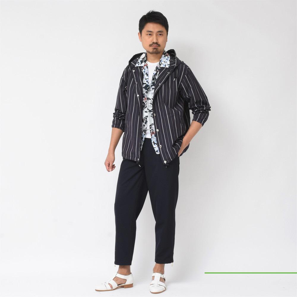 Mando(マンドー)<BR>フードブルゾン・キューバシャツ<BR>2018ssCollection!
