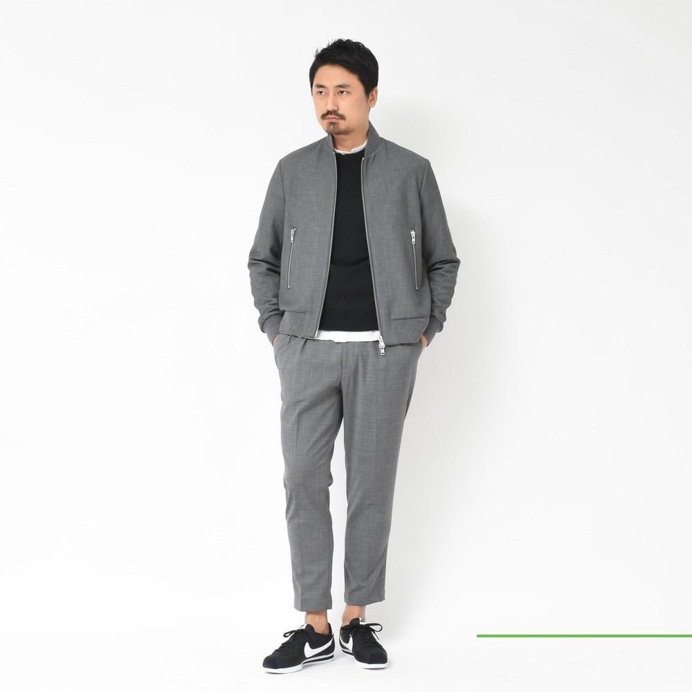 BARENA(バレナ)<BR>ボマージャケット2型・ハーフZIPシャツ<BR>2018ssCollection!