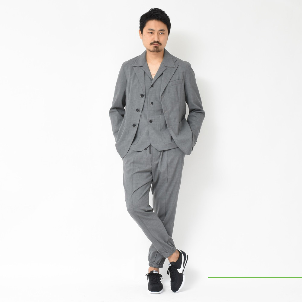 BARENA(バレナ)<BR>セットアップ1型・開襟シャツ<BR>2018ssCollection!