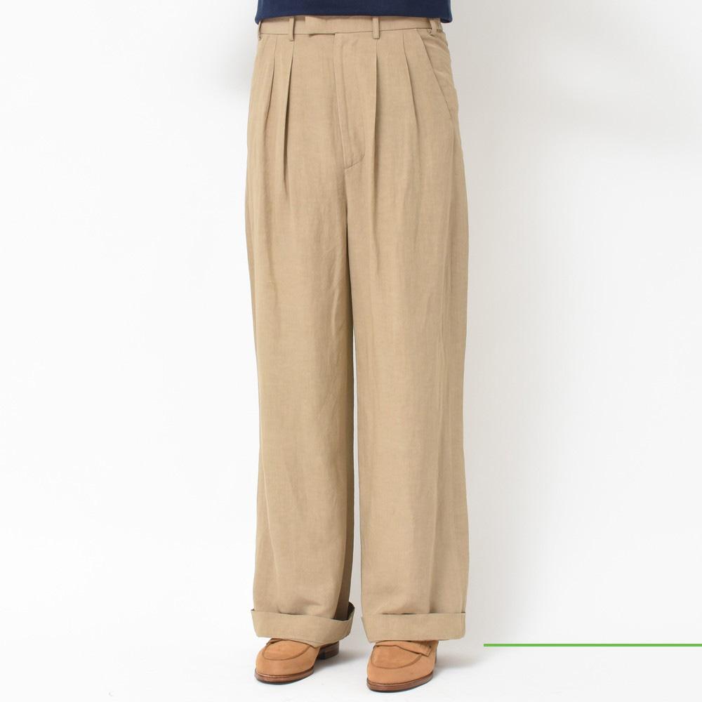 Casely-Hayford(ケイスリーヘイフォード) <BR>ワイドパンツ・半袖シャツ・ポケットTシャツ<BR>2018ssCollection!