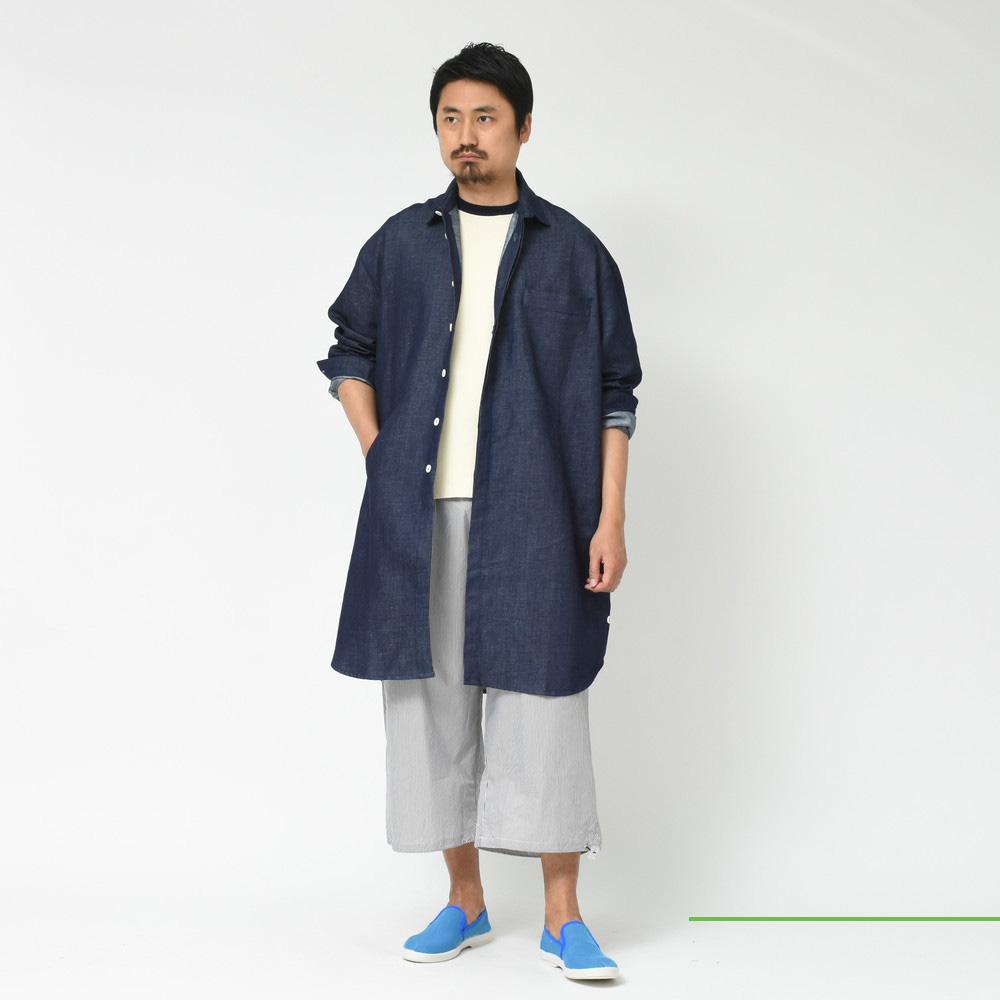 SUNNEI (サンネイ)<BR>デニムコート・ジャケット・デニムパンツ・シャーリングパンツ2型<BR>2018ssCollection!