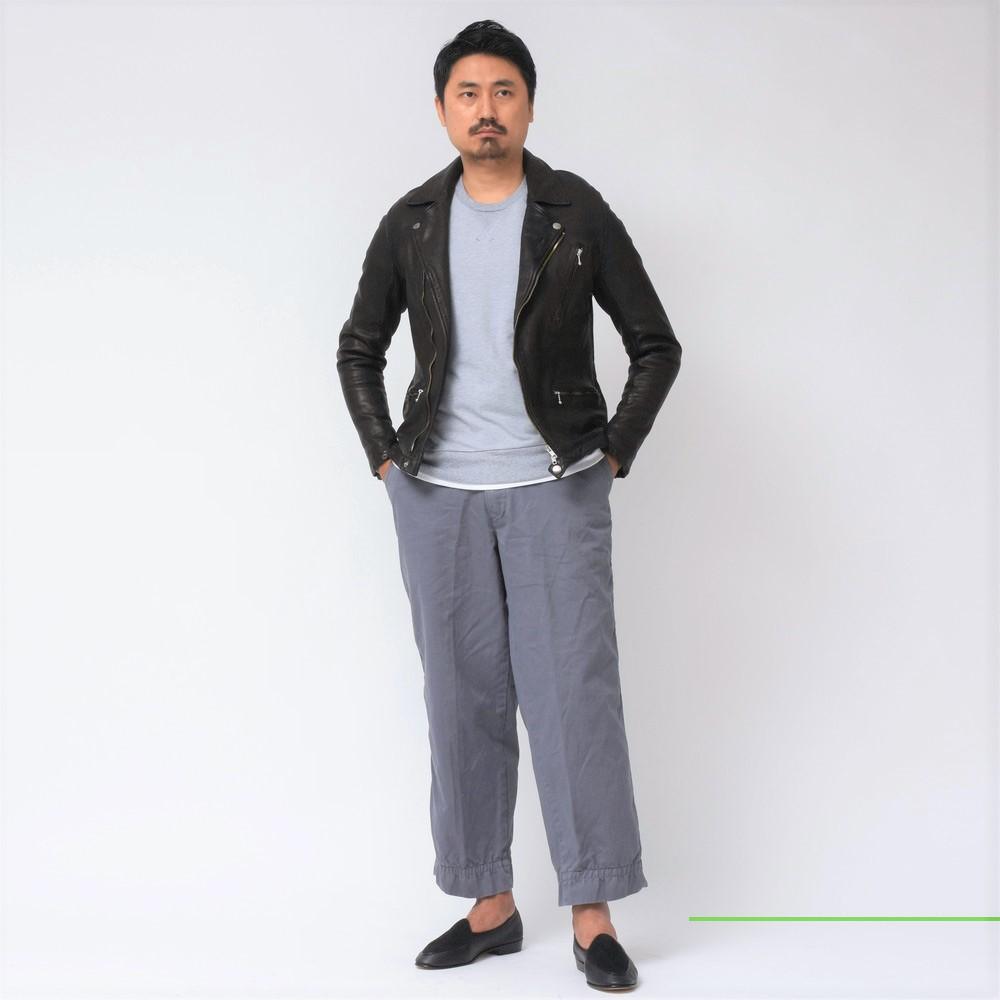Mando(マンドー)<BR>レザージャケット・シャツ2型<BR>2018fwCollection!