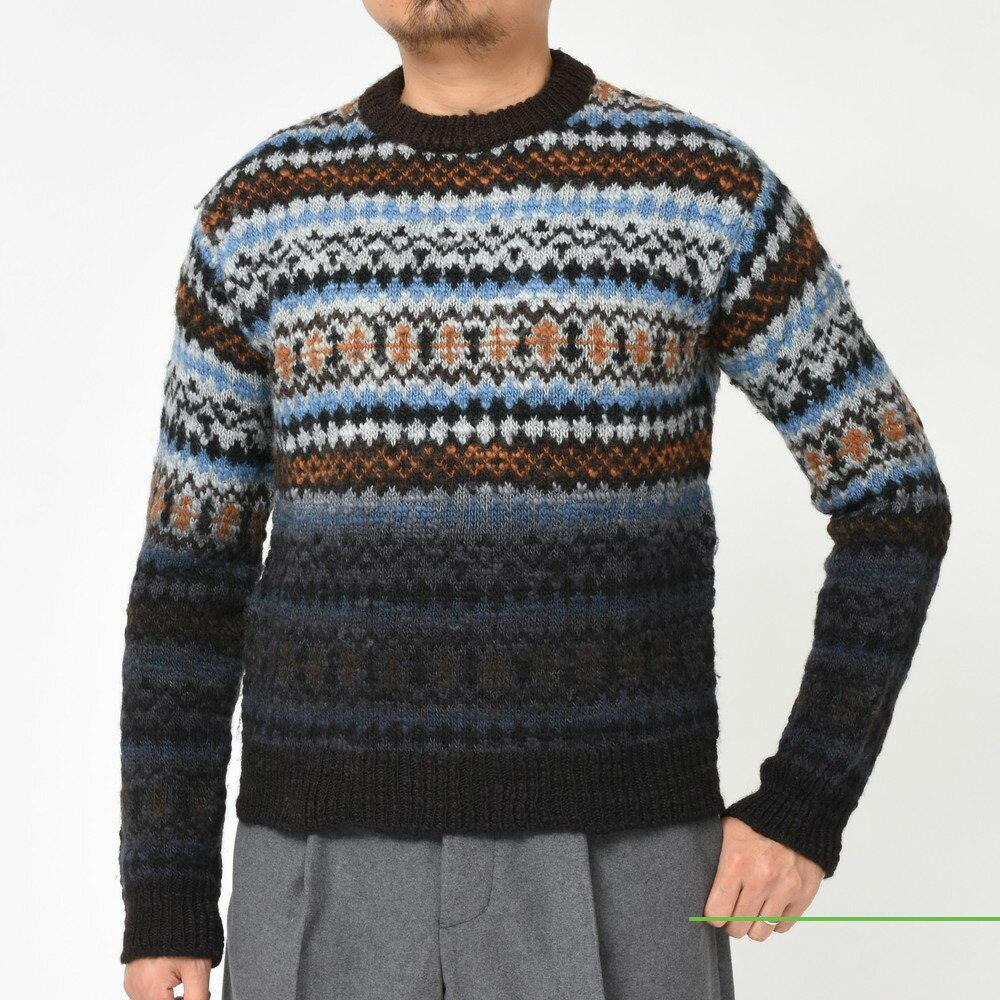 MARNI(マルニ)<BR>フェアアイルニット・シャーリングパンツ<BR>2018fw collection!
