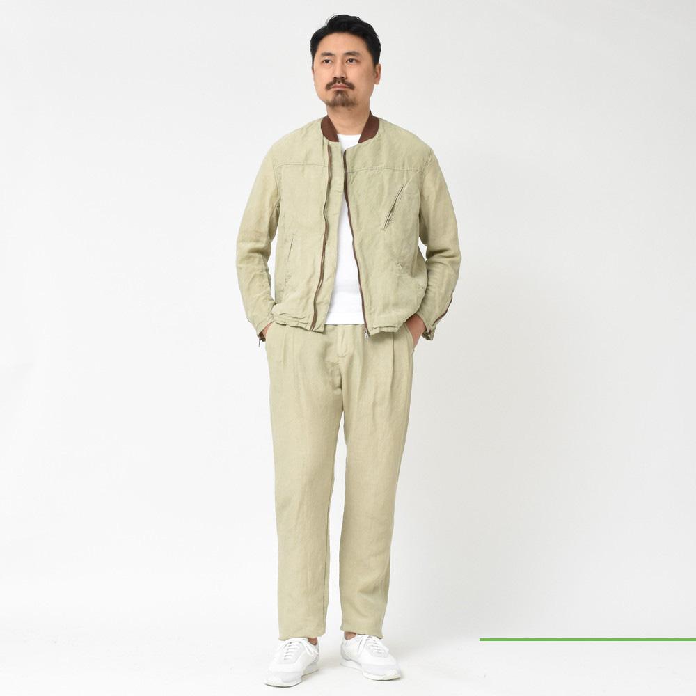 Mando(マンドー)<BR>リネンテンセルブルゾン・パンツ<BR>2019sscollection!!