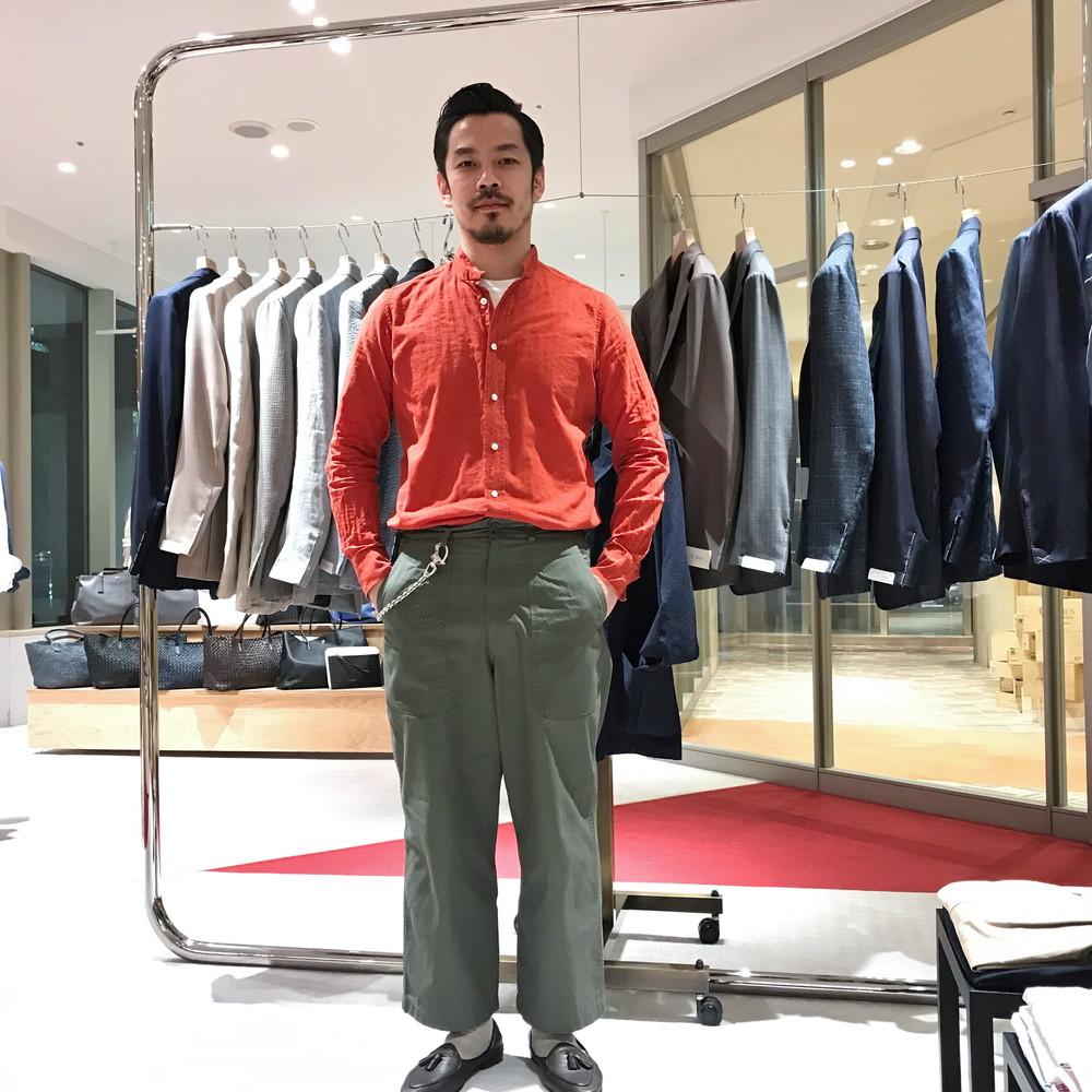 『gujiの縁側』<br>極私的収集物12 ~赤いシャツ編~