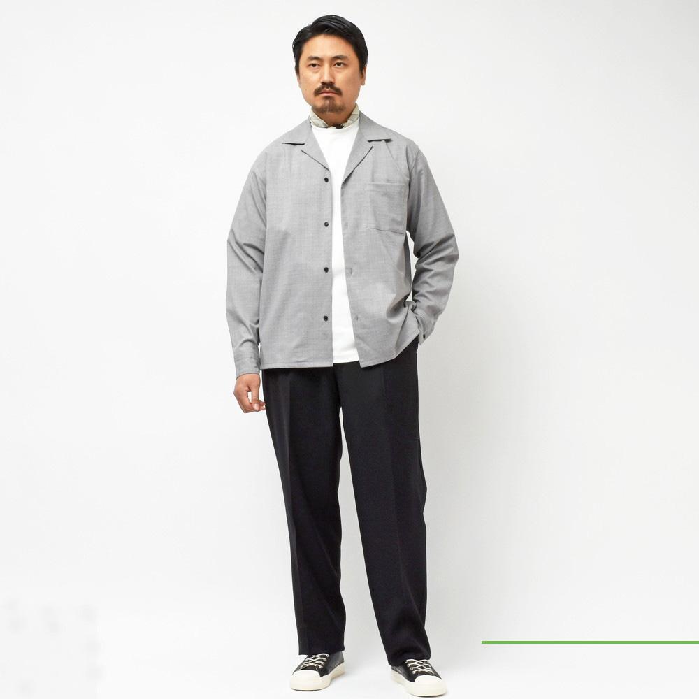moncao(モンサオ)<br>オープンカラーシャツ・バンドカラーシャツ<br>2020fwCollection!