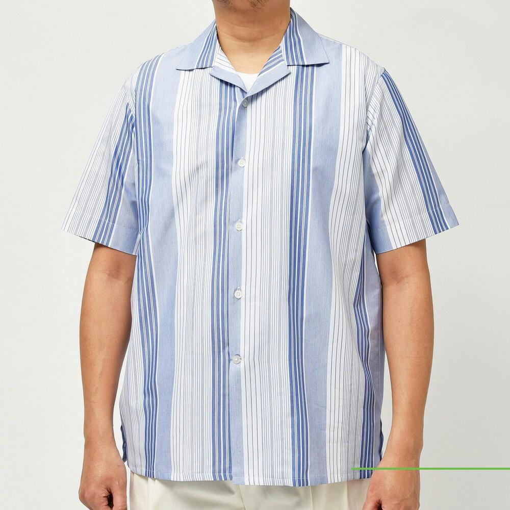 Casely-Hayford(ケイスリーヘイフォード)<BR>ショートスリーブシャツ2型<BR>2021ssCollection!!