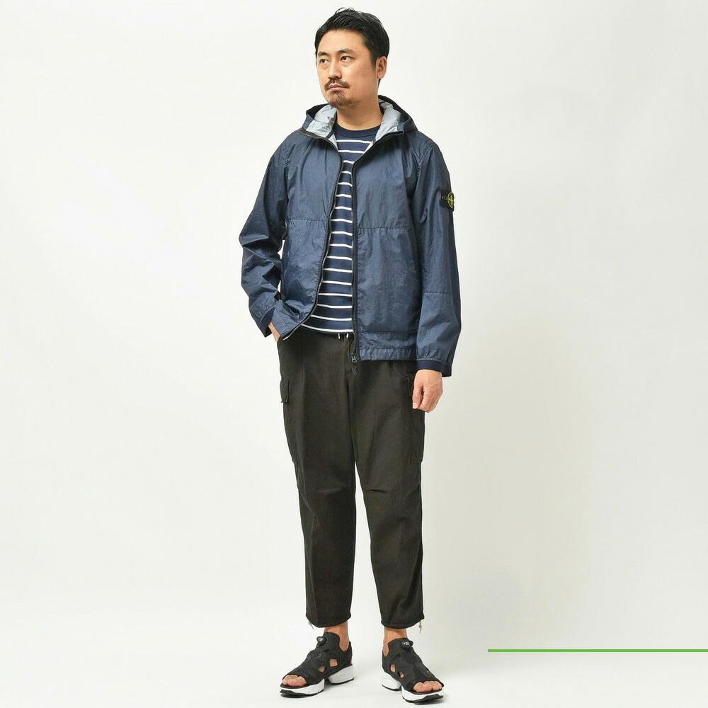 STONE ISLAND(ストーンアイランド)<BR>ワークシャツ・ナイロンフーディー2型<BR>2021ssCollection!!