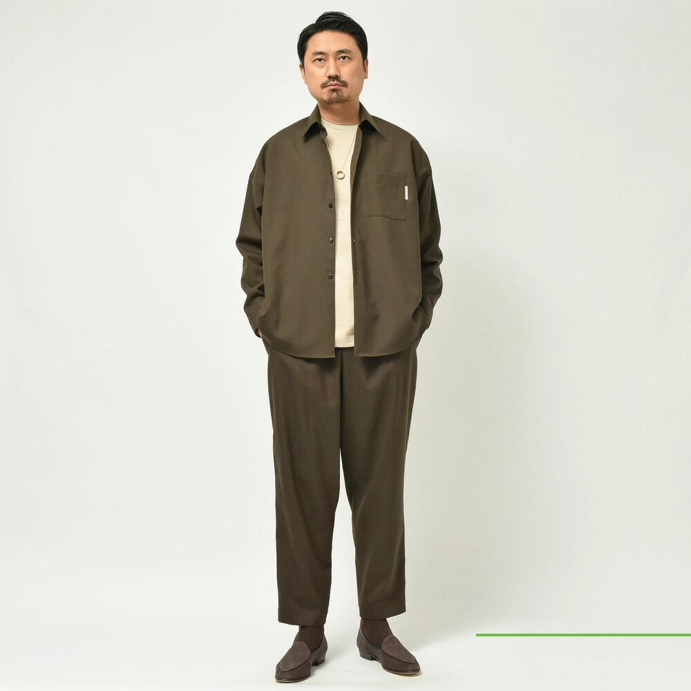 追加も到着!<BR>MARNI(マルニ)<BR>ウールシャツ・ウールパンツ2型・メルトンシャツ・ニットベスト・カバーオール<BR>  2021fwCollection