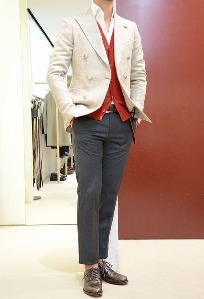 14SS一発目はTAGLIATORE(タリアトーレ)<BR>ダブルブレストのジャケット&3Bスーツ