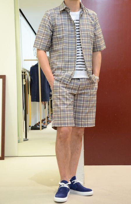 MAURO GRIFONI(マウロ グリフォーニ)&mando(マンドー)のニッチな夏!<BR>シャツ&ショーツ