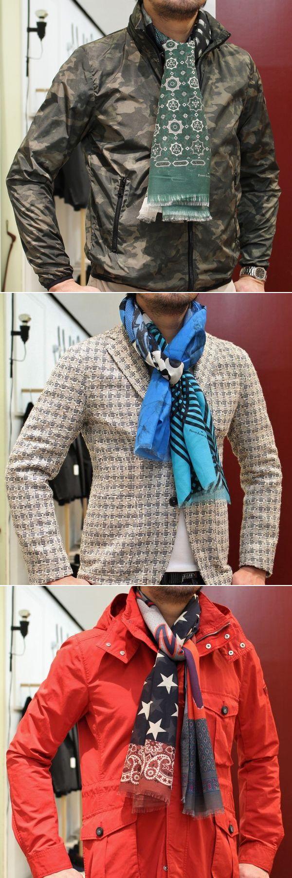 ファッションアイテムとアートの融合!<BR>PIERRE LOUIS MASCIA(ピエールルイマシア)<BR>コットンシルクプリントストール&シルクプリントストール&キャンバスプリントエスパドリーユ