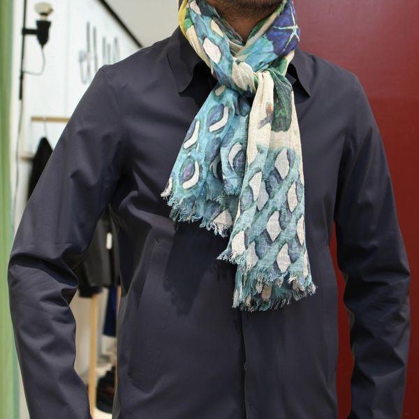 Fashion&Humour!<BR>19 andrea's 47(アンドレアズ・ディチャノーヴェ・クアランタセッテ) リネンシルクストール5型