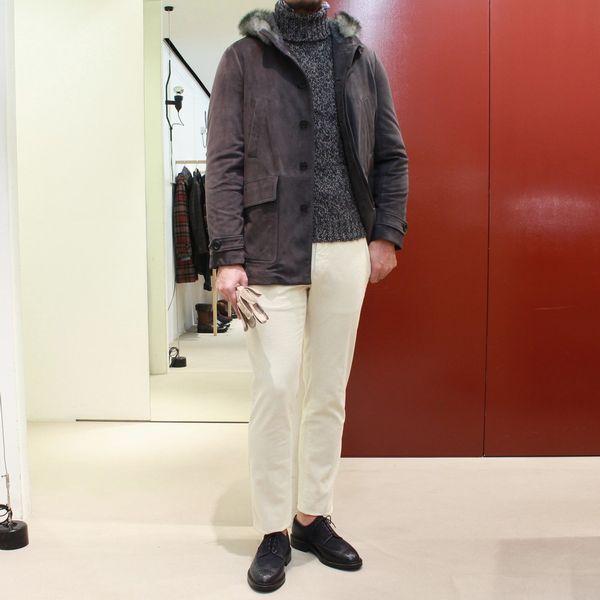 N-3B型に注目です!!<BR>VAZZOLER(ヴァッツォレール) スウェードショートコート&HERNO(ヘルノ)フェア@guji京都店