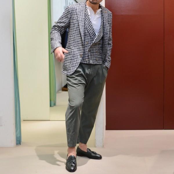 派手界の第一人者<BR>GABRIELLE PASINI(ガブリエレ パジーニ)<BR>ジャケット2型・ジレ2型