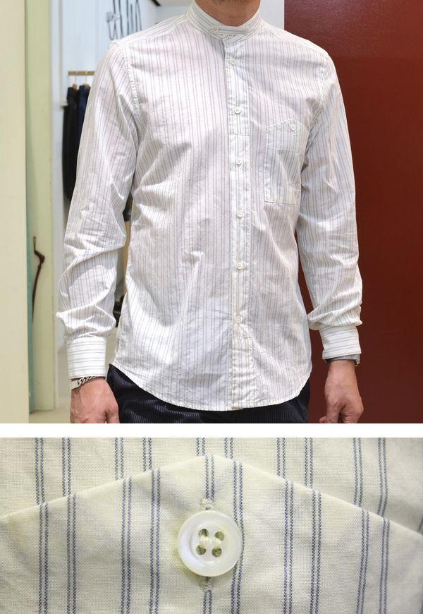 ワーク&ミリタリーの遊びが絶妙!<BR>BARENA(バレナ) シャツ1型・コート1型