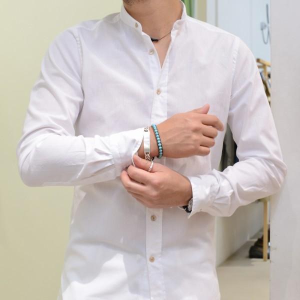 北イタリア的インディゴシャツ!<BR>BOLZONELLA(ボルゾネッラ) シャンブレーシャツ5型