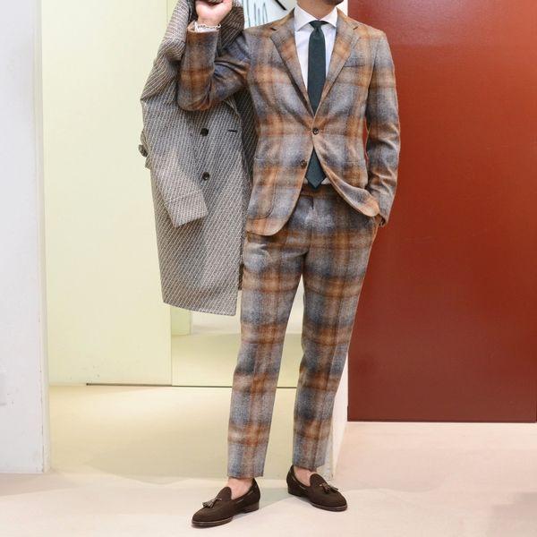エキセントリックな刺激的フルキャンバス!<BR>PAIDEIA(パイデア) スーツ2型・コート1型