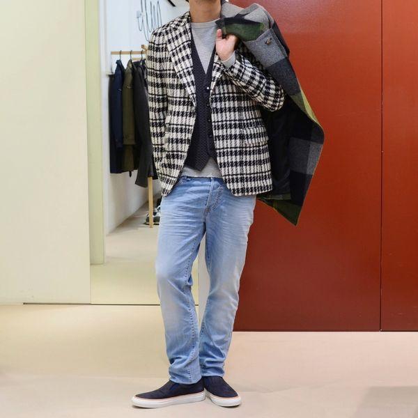 イタリアの洋服屋の矜持!<BR>GABRIELLE PASINI(ガブリエレ パジーニ) ジャケット3型・コート1型