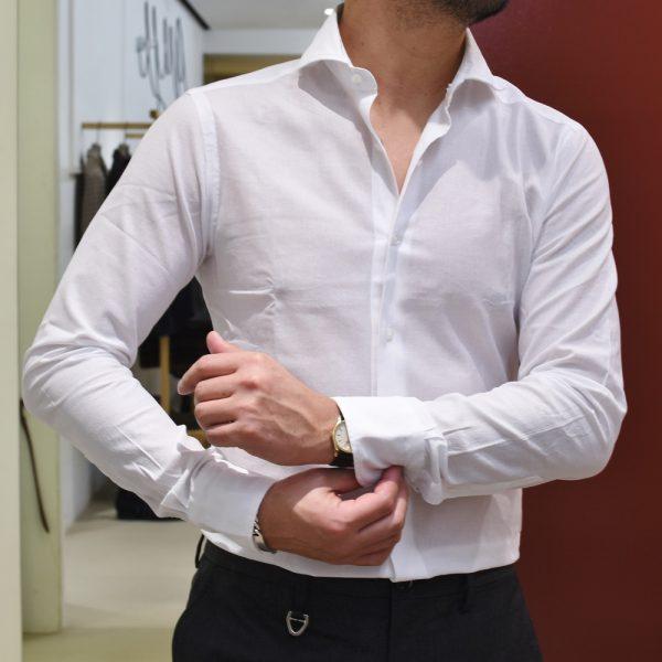 はじまりはBARBA(バルバ)!②<BR>DANDYLIFE(ダンディライフ)#406ワイドカラーシャツ3型
