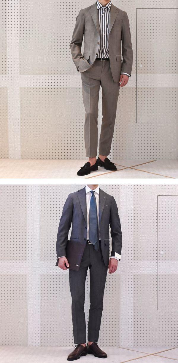 地味派手スーツ!<BR>De Petrillo(デ ペトリロ) スーツ3型