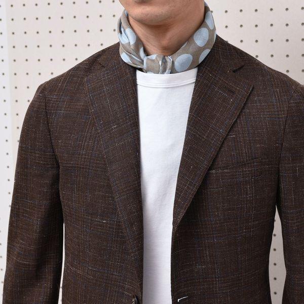 スカーフを別注!<BR>GIERRE(ジエレ) スカーフ2型・ストール2型