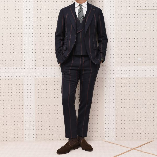 特選素材の3ピース!<BR>GABRIELLE PASINI(ガブリエレ パジーニ) スーツ2型