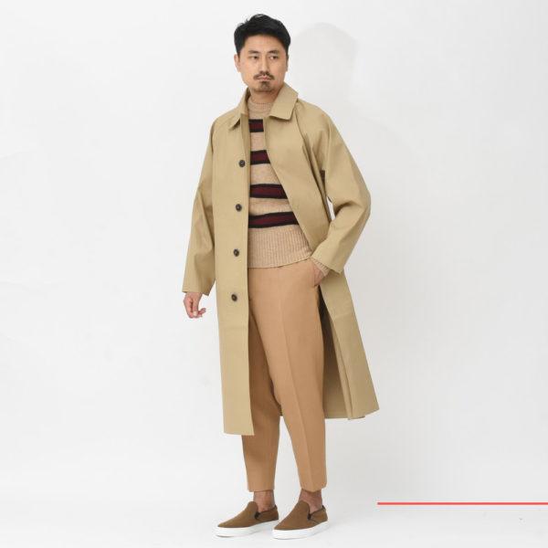 男の価値はコートで決まる!?<BR>MACKINTOSH(マッキントッシュ)コート3型