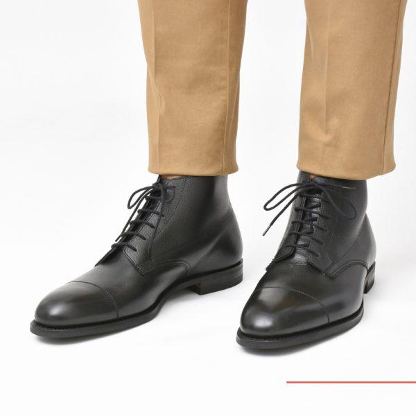 肝入り別注のモダンブリティッシュブーツ!<BR>Crockett&#038;Jones (クロケットアンドジョーンズ) ブーツ1型