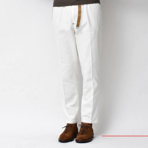 新ブランドはPITTI UOMOのユニフォーム!<BR>White Sand(ホワイトサンド) パンツ5型