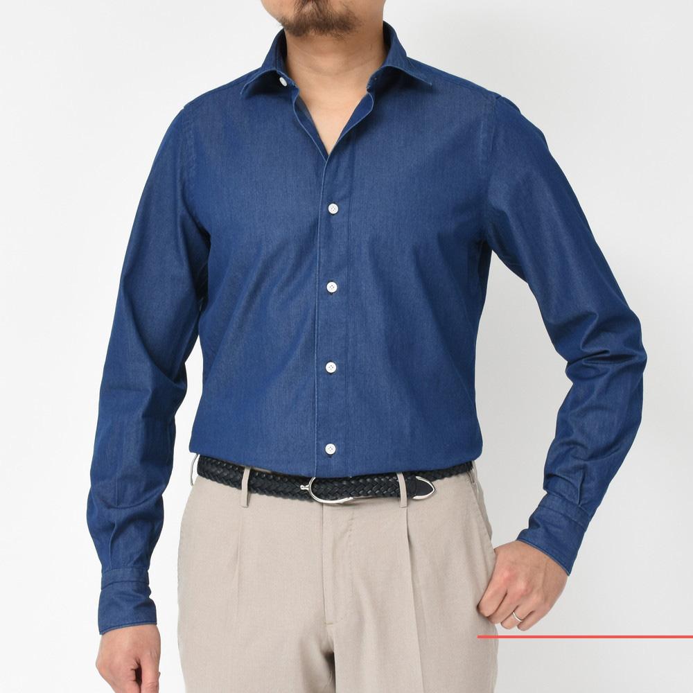 失敗しないシャツ選び!<BR>Finamore(フィナモレ)シャツ7型
