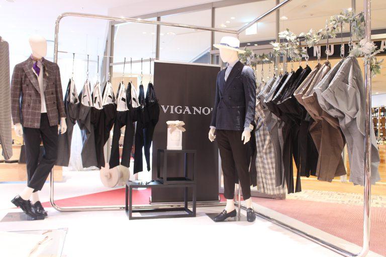 今をときめく!<BR>VIGANO(ヴィガーノ)2プリーツクロップドパンツ2型・シャーリングパンツ2型