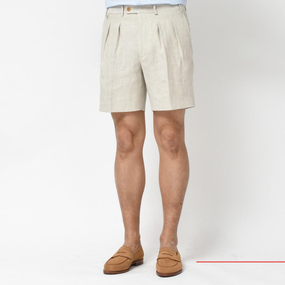 フランス的、夏ショーツ!<BR>BERNARD ZINS(ベルナール ザンス) パンツ4型