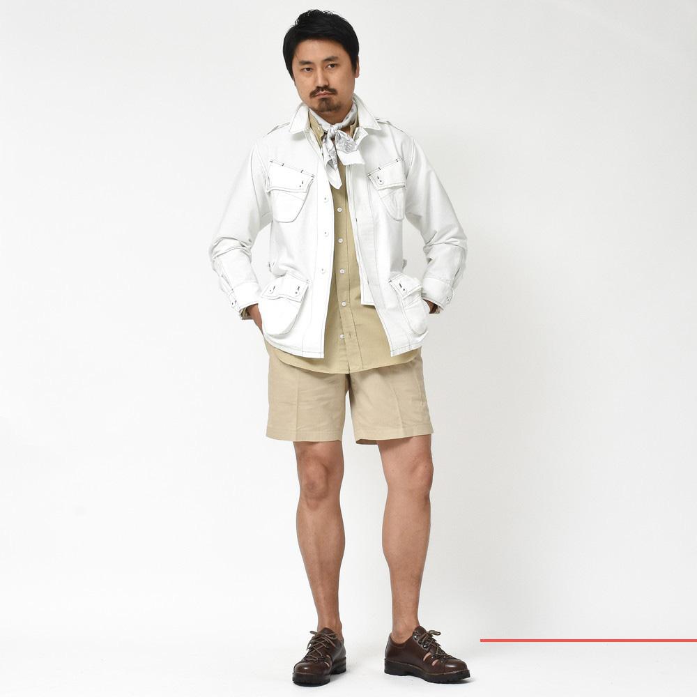 春一番シャツ!?<BR>Bagutta(バグッタ)ファティーグジャケット・紐付きシャツ・ロングシャツ・サファリシャツ