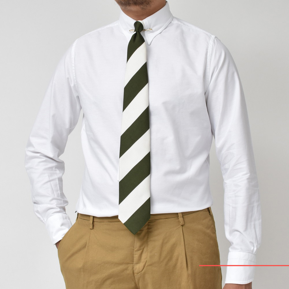 伊×米のハイブリッドシャツ!<BR>BOLZONELLA(ボルゾネッラ)レギュラーカラー・バンドカラー2型・半袖シャツ