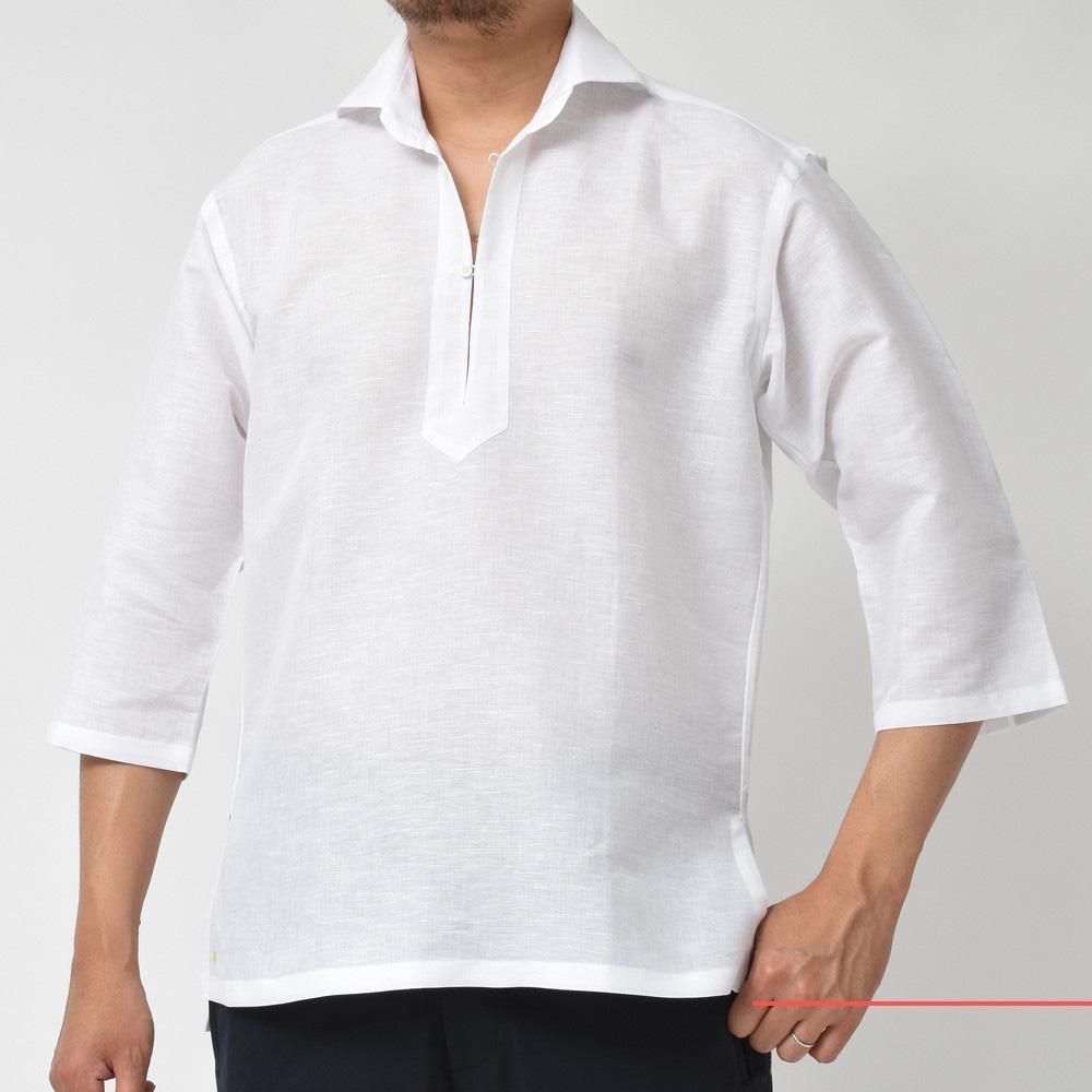 大人のリゾートスタイル!<BR>Giannetto(ジャンネット)カプリシャツ2型