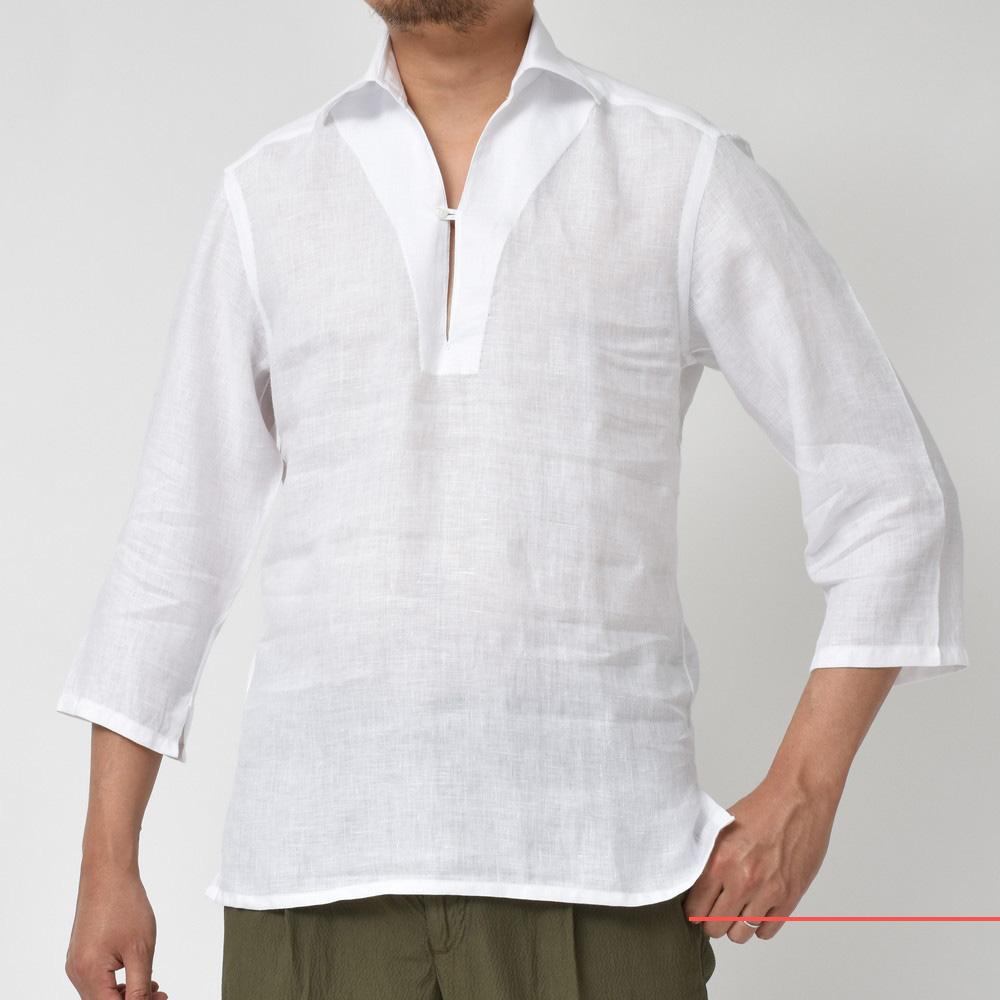 夏のナポリシャツ!!<BR>BARBA(バルバ) シャツ4型